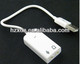 Cheap 7.1 channels USB With sound card