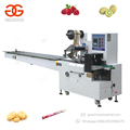 New Type Automatic Date Bar Biscuit Biltong Battery Packaging Vegetable Fruit Packing Machine