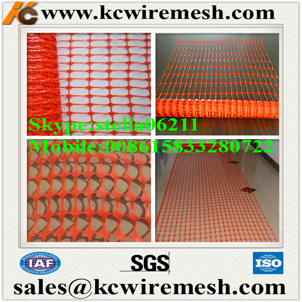 Facory!!!!! KangChen Plastic barrier net/safety fencing net/road safety barrier netting