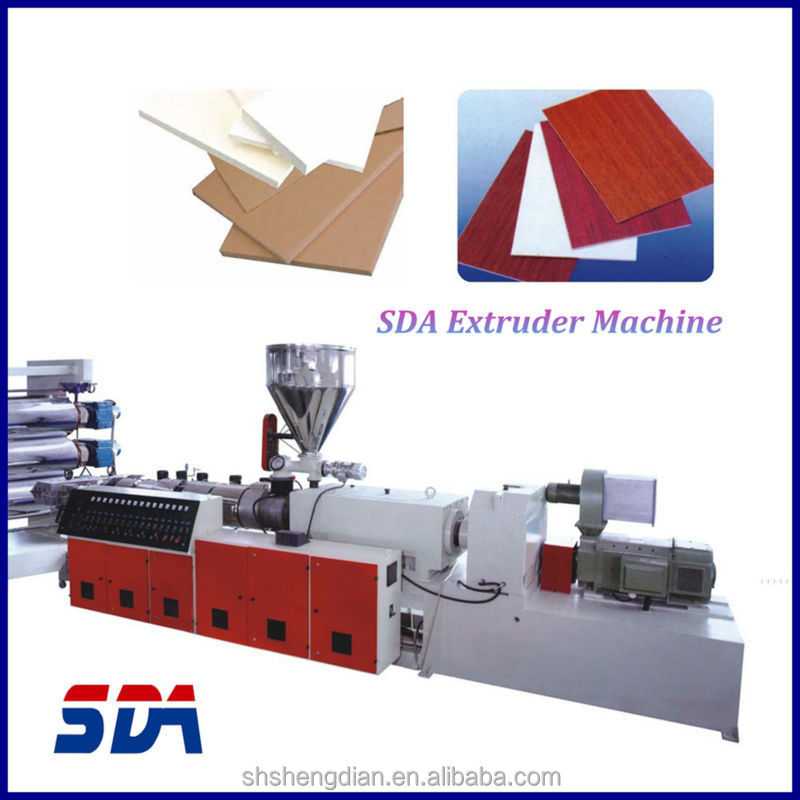 pp sheet board panel plastic extruder extrusion making machine production manufacturing equipment plant machine line