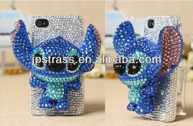 Creative DIY Cell Phone Case Stickers Hot-fix Rhinestone Manufactory