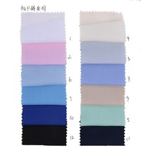 100% Polyester Woven Fabric With Twill Fabric Construction For Uniform &Shirt