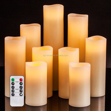 LED Votive Tea Lights Candles With Timer,led candles with remote Battery Operated Flickering White Flameless Candles
