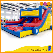 AOQI products classical car model inflatable slide for commercial use