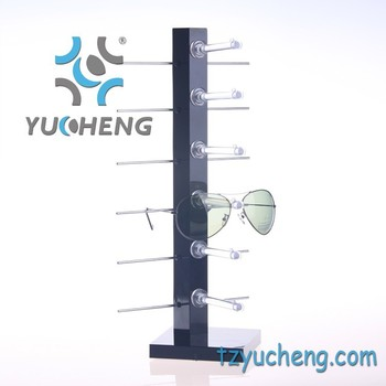 [YUCHENG] spectacle sunglasses table display rack Y011