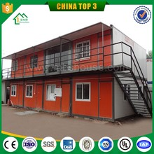 Two-floor container house for warehouse / prefabricated container house for workers /cheap prefab shipping container home