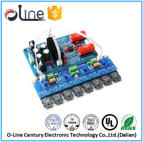 Low price 1.0mm UL94v-0 OSP car radio code calculator pcb