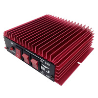 New Arrivals cheap BAOJIE BJ-200 HF Transceiver Ham CB Radio HF Power Amplifier Red Color