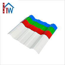 High quality waterproof PVC Plate Material types plastic roofing tiles