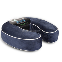 AS Seen On TV U-Shaped Neck Pillow Travel Pillow Neck Support Memory Foam Pillow For Travel On Airplane & Car