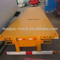 20ft Container Transport Semi Trailer