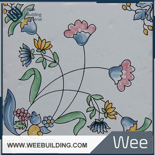 hand made wall ceramic tile 150x150mm hot sale item