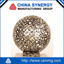 2015 Modern Large stainless steel Abstract Arts Sphere sculpture