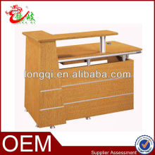 canton fair small design office used furniture reception counter table