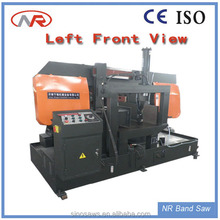 Steel tool rotation angle band cutter manually controlled Blade wood cutting band saw machine