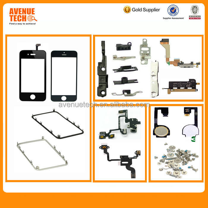 for iphone 4 parts + iphone 4s original repair parts + spare parts shenzhen