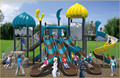 KAIQI classic Castles Series KQ50057A China children popular playground equipment sets for kindergarten, residential park