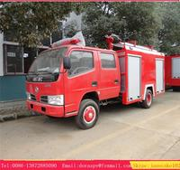 dfac 3000 litres 4000 litre water tanker with foam 30L/s pump truck fire
