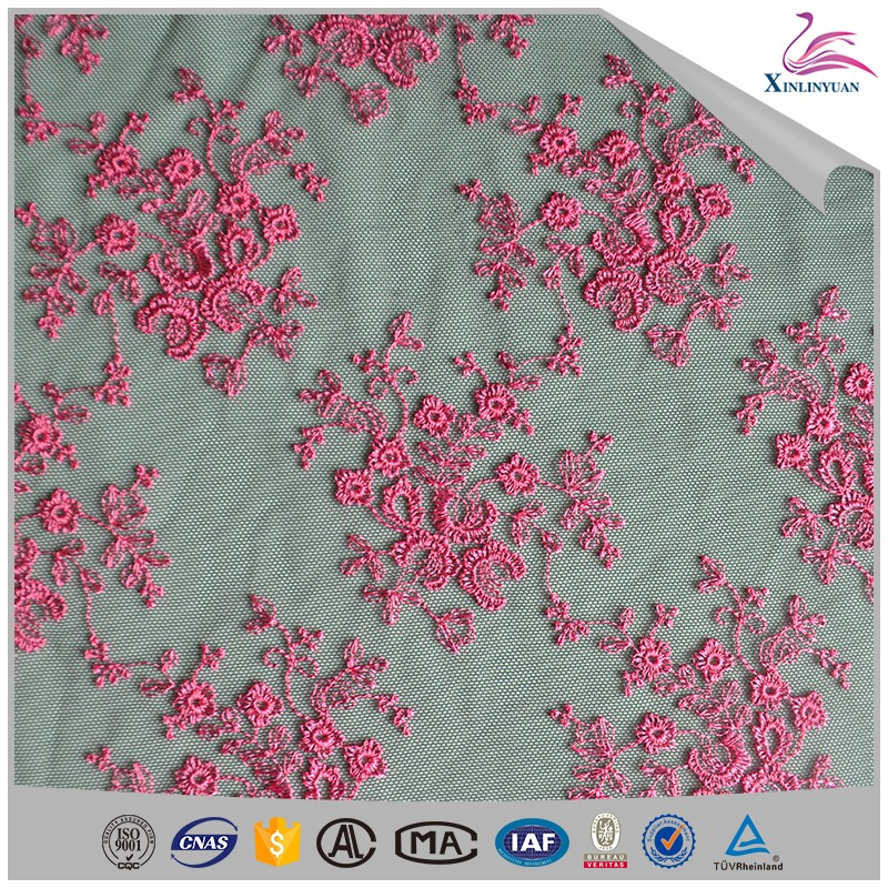 Customized eyelet hand embroidery designs tablecloths
