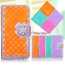 For Samsung Galaxy S5 Diamond Leather Flip Case Cover Wholesale