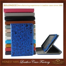 folding stand tablet case flip leather tablet case for iPad mini