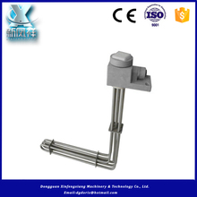 Metal tube immersion heater for tank