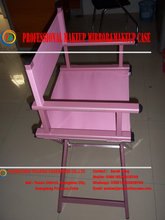 Competitive lawn director chair high quality director chair kid black outdoor solid wood director chair