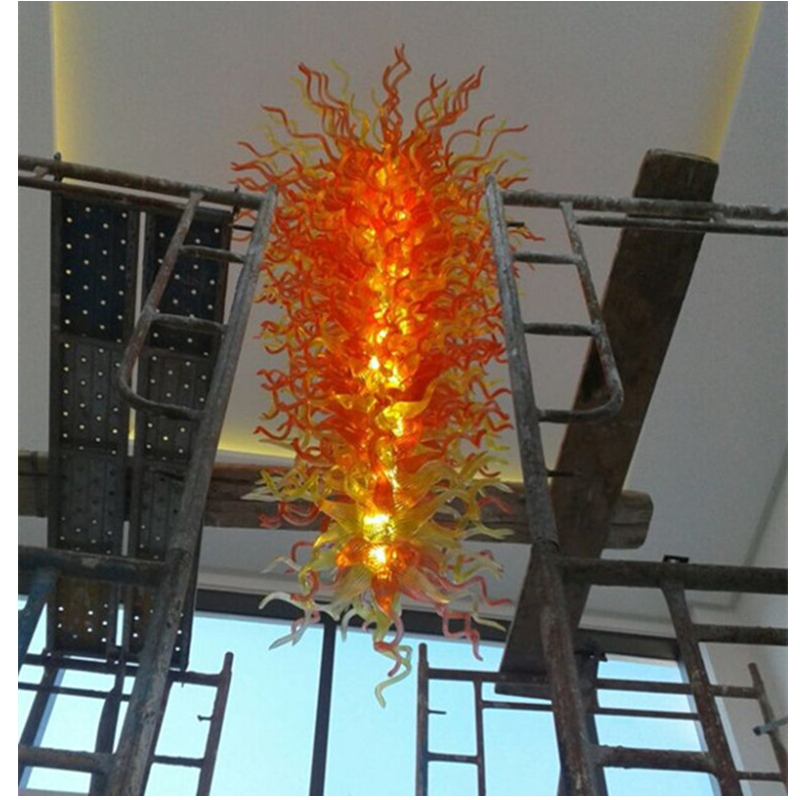 Chihuly style chandelier