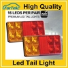 china manufacturer direct supply 8led bus tractor rear tail light