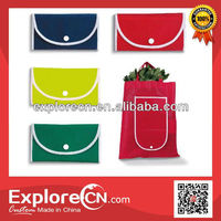Top Supplier of Nonwoven Foldable Shopping Bags