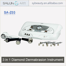 3 in 1 Anti-wrinkle Ultrasound Exfoliator Diamond Dermabrasion Device
