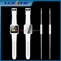 2015 China U8 cheap smart watch bluetooth phone,android smart watch,micro sim card watch phone