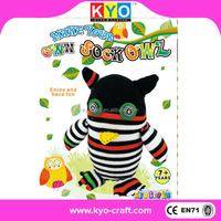 Free sample owl soft toy