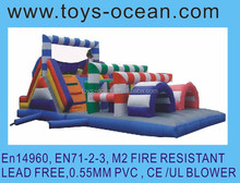 inflatable obstacle toys/inflatable toys tunnel rental/big inflatable toys