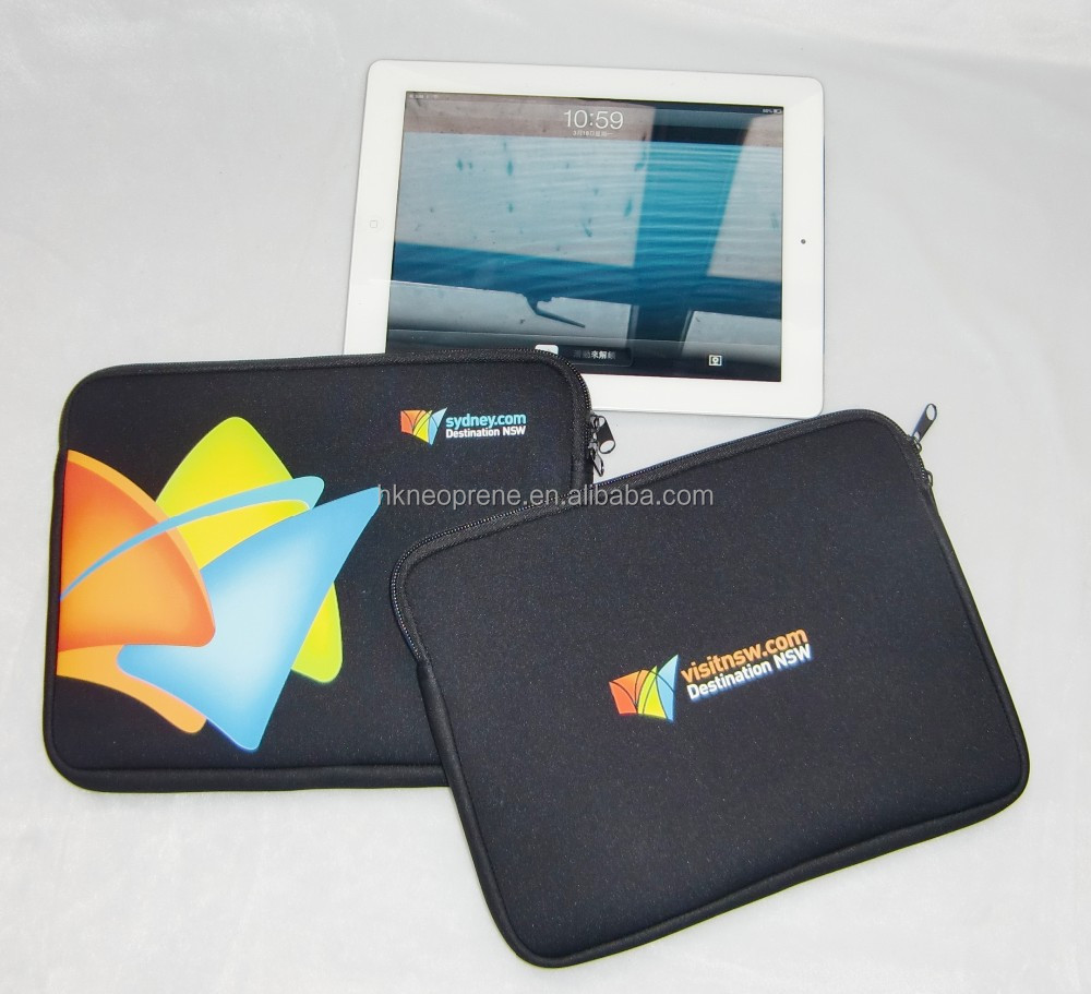 Hot sale for IPad mini Neoprene zipper Tablet sleeve