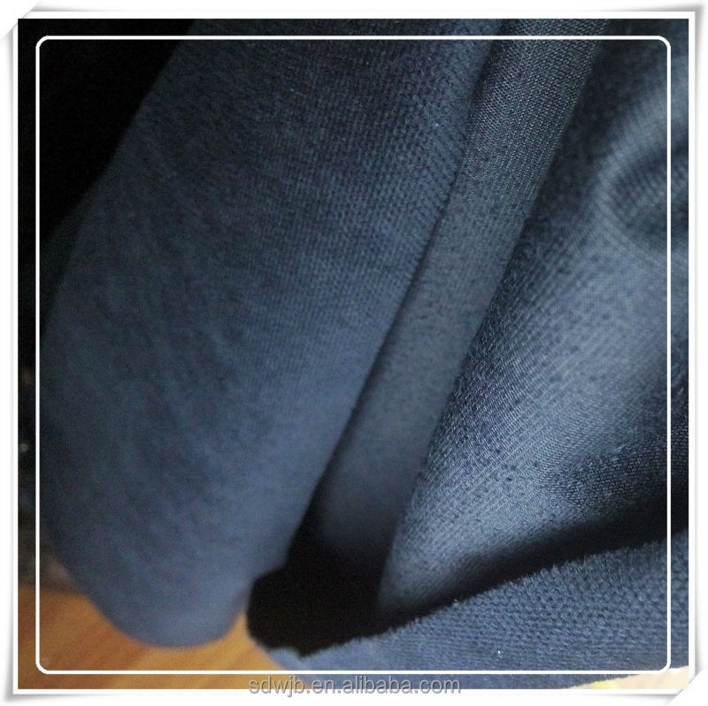 polyester small grid velvet fabric for suit or jacket
