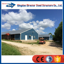 Factory Price Fast Construction Light Steel Structure Chicken Houses