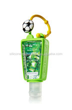 Silicon bath and body works basketball antibacterial hand sanitizer gel holder