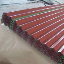 Roofing PPGI prepainted galvanized corrugated steel sheet