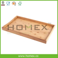 Bamboo Utensil Tool/Breakfast Tray/Kitchen Square Tray/Home Bed Table Serving Tray/Bamboo Kitchenware/Utensil Organizers/Homex
