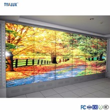 High quality advertisement wall mounted lcd panel display video wall