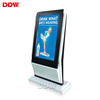 Discount Price 43 inch oblique design digital signage advertising display floor standing lcd ad player with wifi android