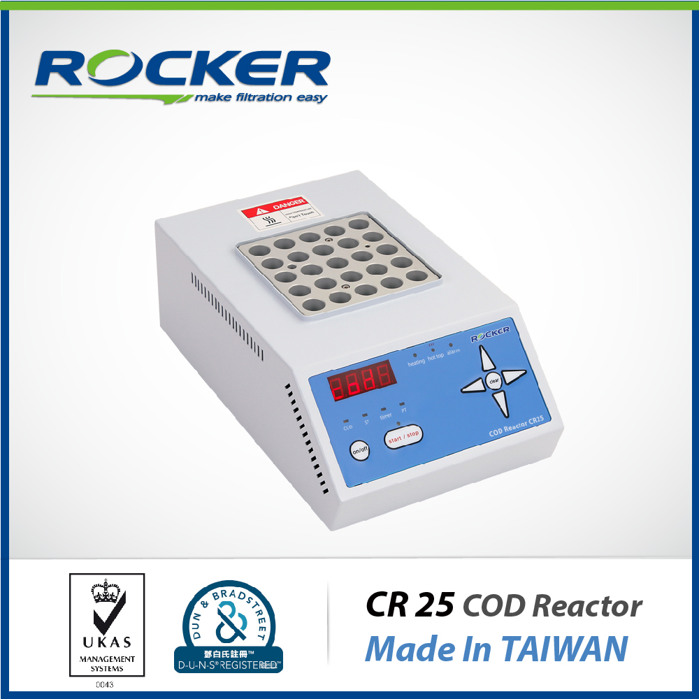 Rocker Scientific Digital LED CR 25 Chemical Oxygen Demand COD reactor Water Measuring Equipment