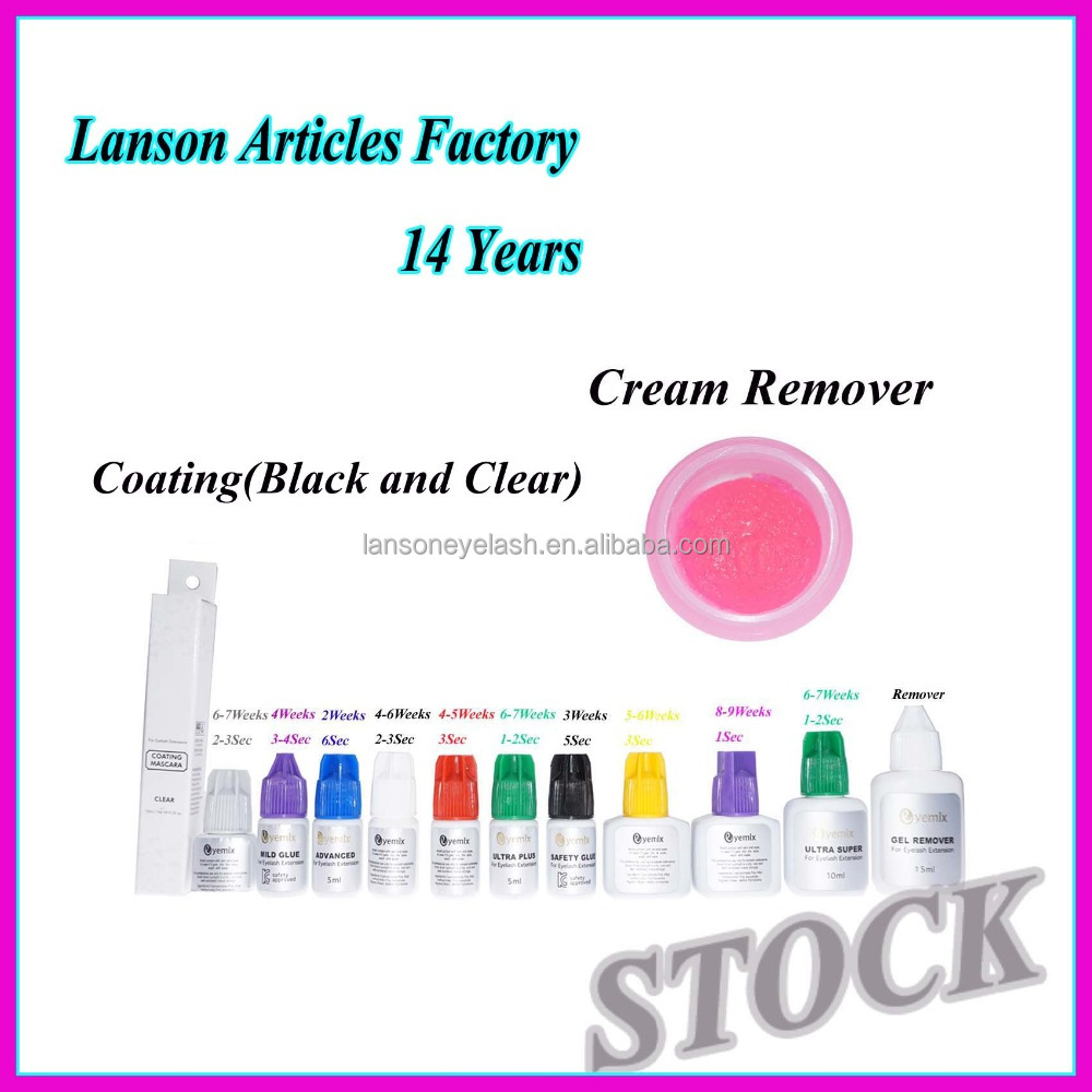 Lanson articles factory private label korea professional eyelash extension glue