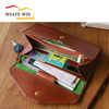New Fashion Travel Passport Holder Unisex Leather Credit Card Purses Handbags