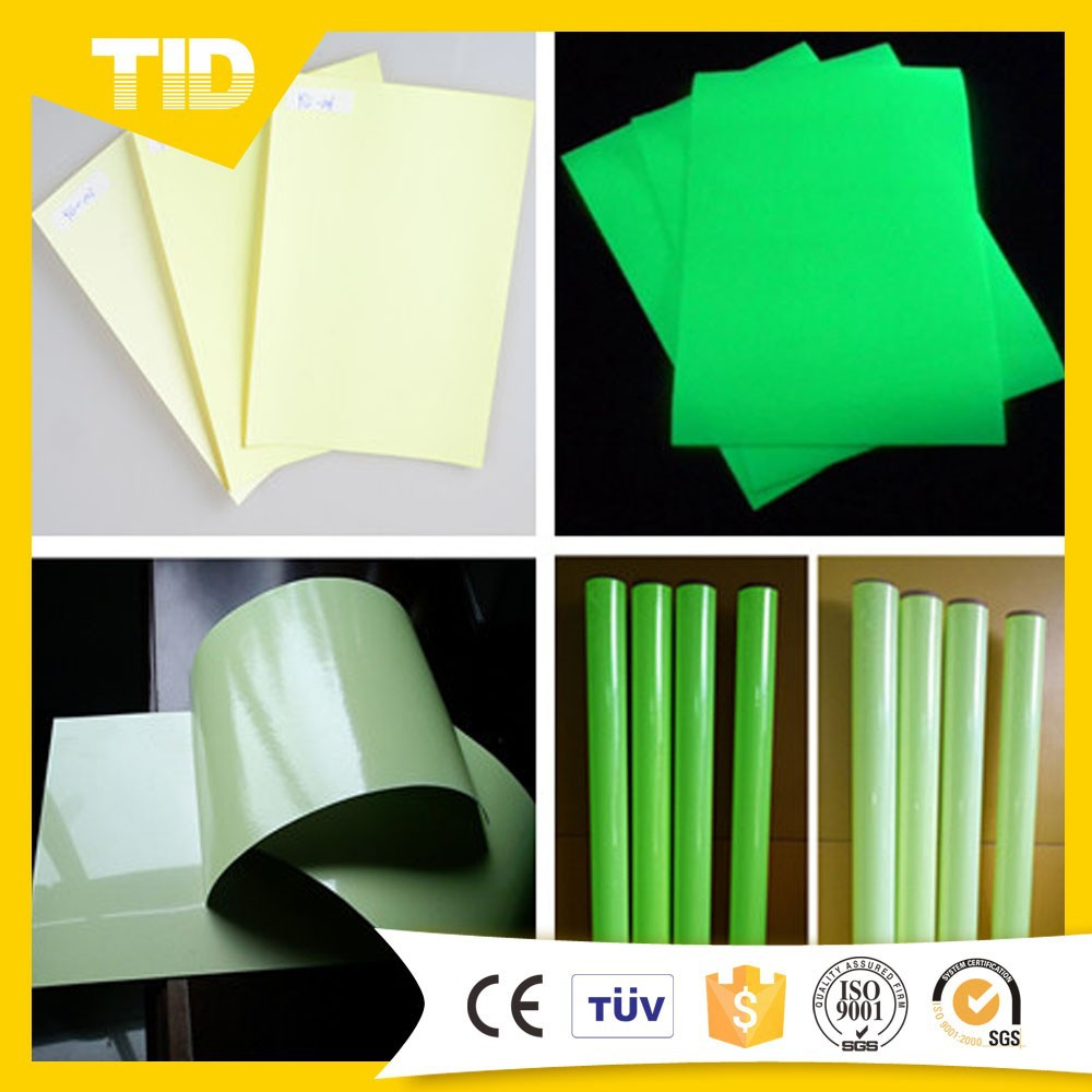 how to make glow in the dark paper