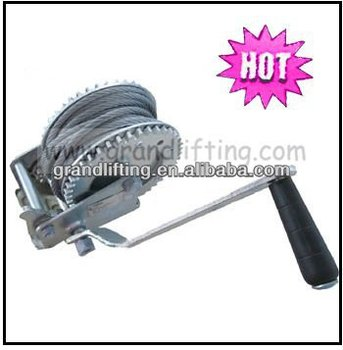 Manual boat winch hand winch