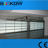 used garage door sale for glass garage door/aluminium garage glass door
