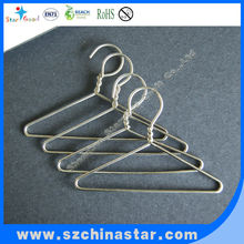 Stainless laundry clothes hanger holder