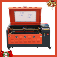 laser engraving machine 50W/60W for engraving glass/ wood/MDF/plywood/acrylic/rubber/paper